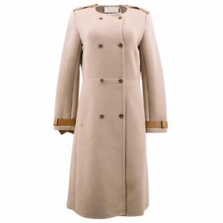 Chloe Beige Wool Coat