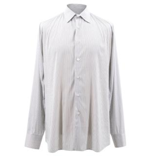 Prada Black and White Pin Stripped Shirt
