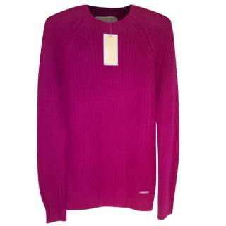 Michael Michael Kors bright pink jumper