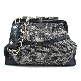 Gianfranco Ferre Silver Chain Bag