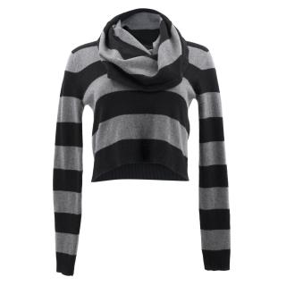BCBGMAXAZRIA Wool Striped Sweater