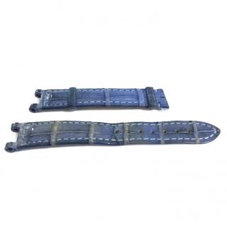 Cartier - Blue Exotic Skin Watch Strap