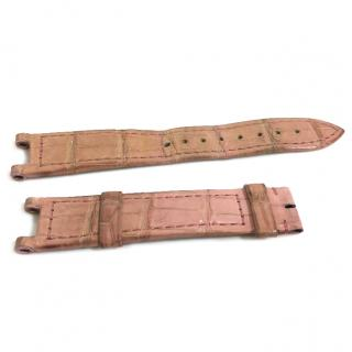 Cartier -Pink Exotic Skin Watch Strap