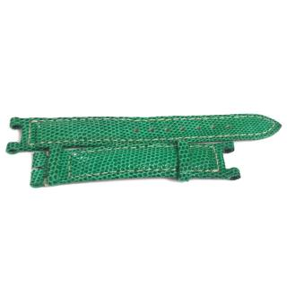 Cartier -Green Exotic Skin Watch Strap