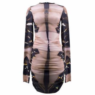 Michael Angel Transformer Silk Sheath Dress