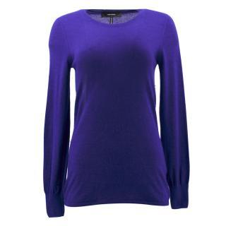 Isabel Marant Purple Cashmere Sweater