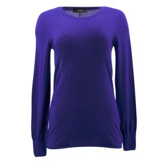Isabel Marant Purple Cashmere Sweater