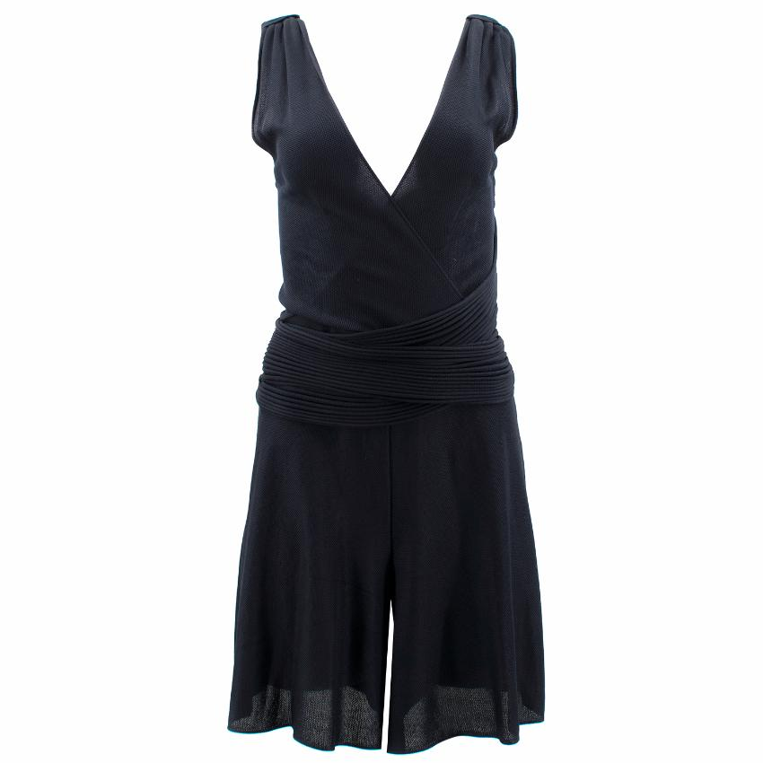 Chanel Navy V- Neck Playsuit