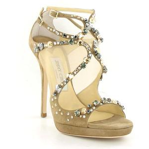 2f498eded598 Jimmy Choo Viola Embellished Suede Heels
