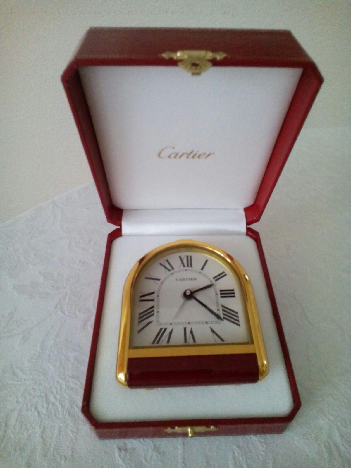 CARTIER  Cartier Romane Pendulette Clock