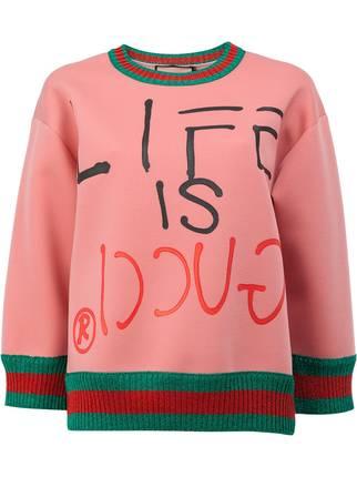 b7045a12f Gucci Life Is Gucci Sweatshirt121511   HEWI London
