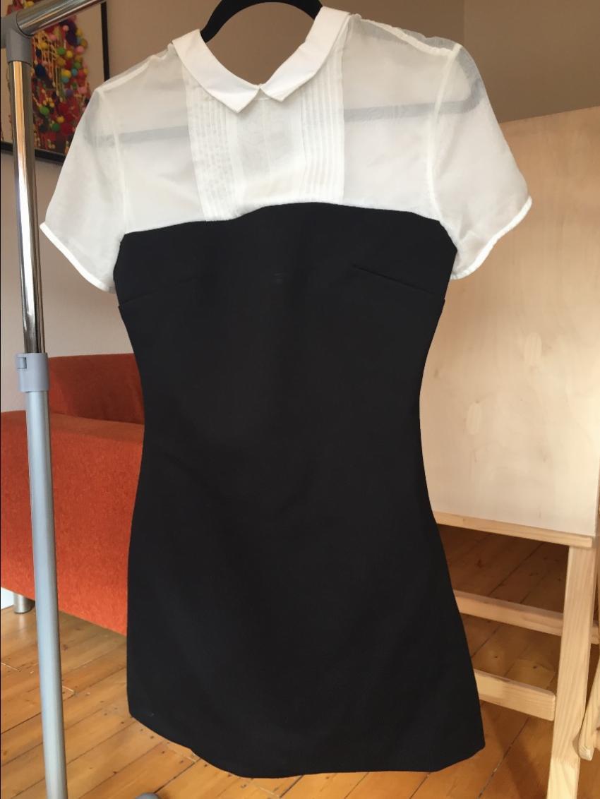 Maje h14kamille dress black