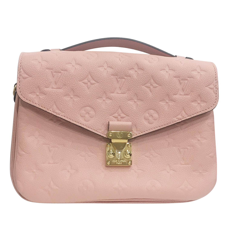 6af6866f7449 Louis Vuitton Baby Pink Lv Pochette Metis
