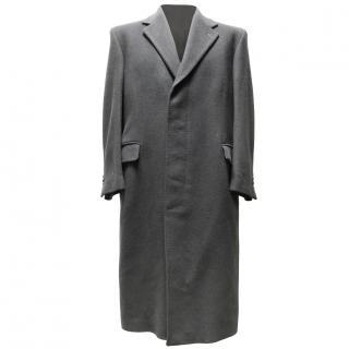 Harrods Crombie Cashmere Over Coat