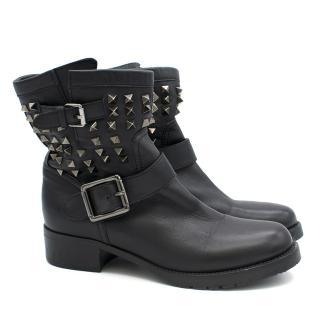 Valentino Rockstud Black Boots