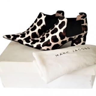 Marc Jacobs Leopard Print Boots
