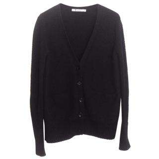 T By Alexander Wang Black cotton cardigan