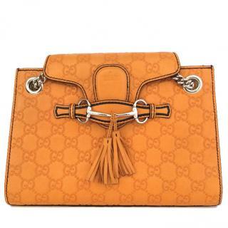 Gucci Guccissima Emily Chain Shoulder Bag