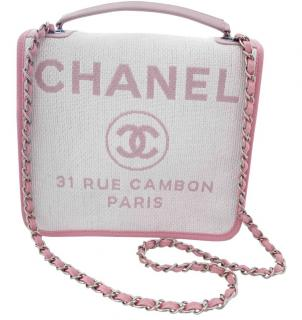 Chanel - Brand New Pink Deauville Bag