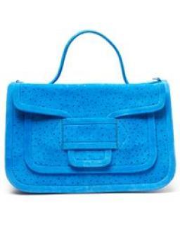 Pierre Hardy blue Alpha shoulder bag