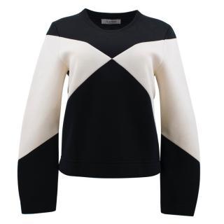 Valentino Black and White Sweater