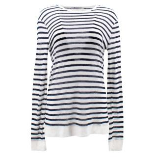 T Alexander Wang Striped Jumper