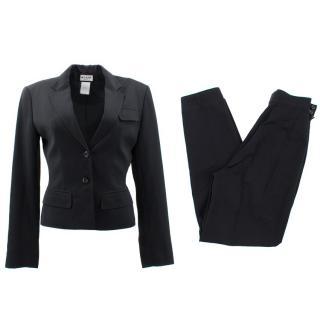 Alaia Black Suit