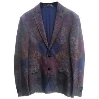 Etro  silk paisley print blazer