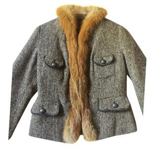 Moncler Winter Fox Trimmed Jacket