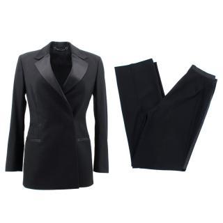 Gucci Black Wool Suit