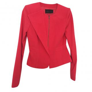 Bcbg Max Azria Red Jacket