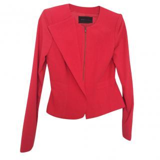 Bcbg Max Azria Red Jacket