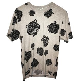 Kenzo Grey Tiger T Shirt