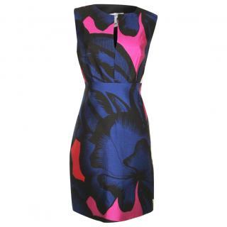 Diane von Furstenberg blue mix dress
