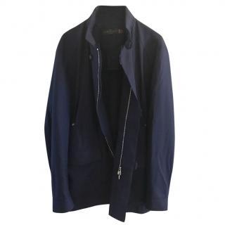 Corneliani ID Navy Blue Coat