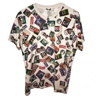 Kenzo Multi Icon Print T Shirt