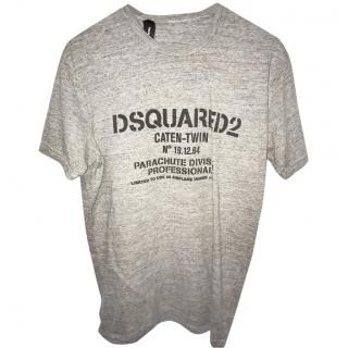 Dsquared Grey Logo T-Shirt