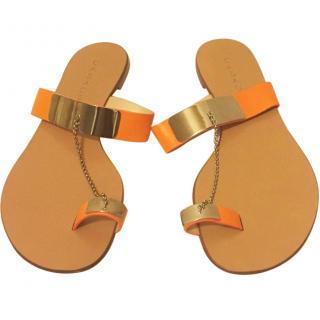 Casadei Chain Flat Sandals