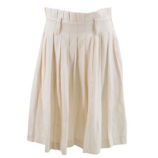 Alexander Mcqueen Beige Skirt