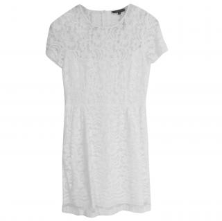 Tara Jarmon white lace dress