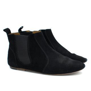 Isabel Marant Black Flat Boots