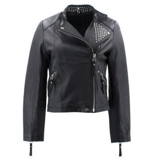 Iro Black Leather Jacket