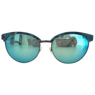 Vera Wang blue sunglasses