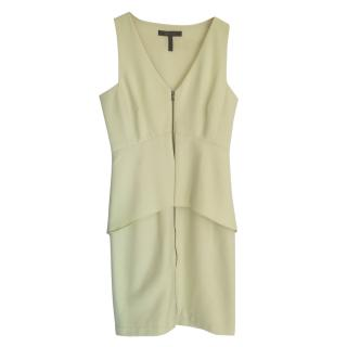 Bcbg Max Azria lemon zip fornt dress