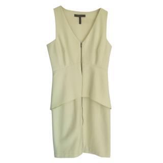 Bcbg Max Azria lemon zip fornt dress
