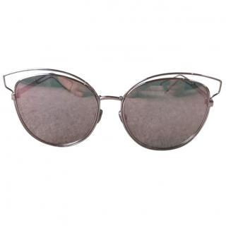 Dior 'Sideral 2' rose sunglasses
