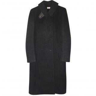 Alberta Ferreti dark grey coat