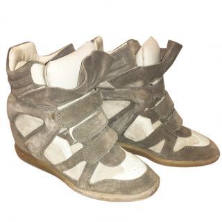 Isabel Marant Beige/Grey Sneakers