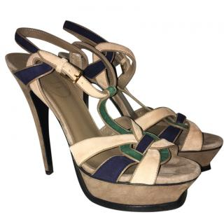YSL Multicolour Tribute Sandals