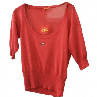 Vivienne Westwood red sweater